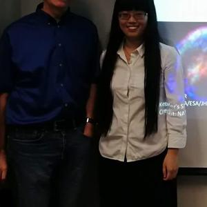 Xilu Wang and Brian Fields